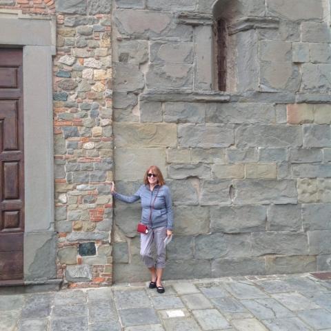 The streets of Montecatini Alto