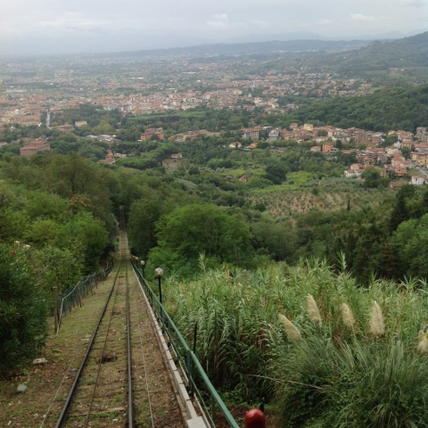 The view from the Funiculare