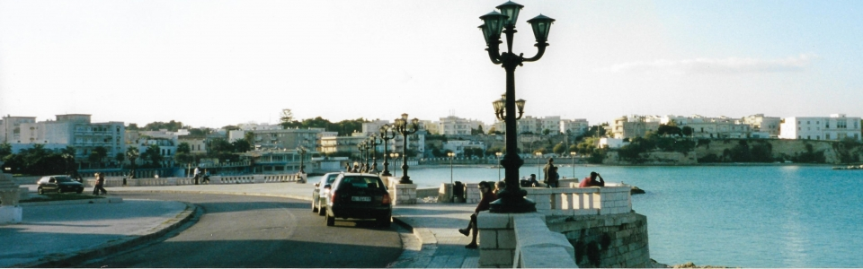 Along the quay in Otranto